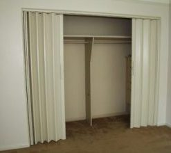 Accordion doors, accordion wall, bi fold doors, folding doors.