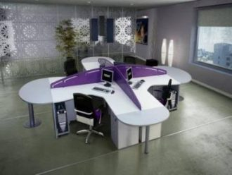 office partitions, office cubicles, office dividers