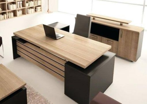 Executive table, L shaped desk, office table, office furniture
