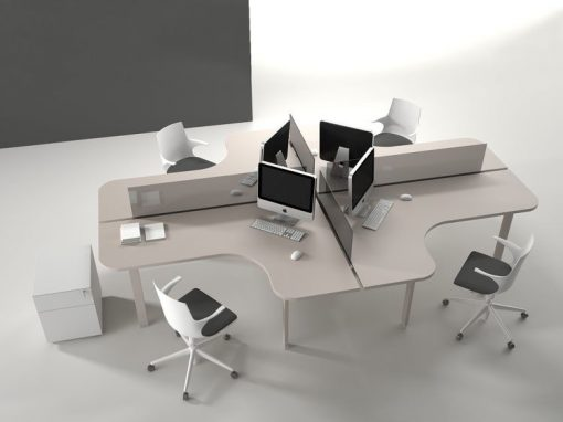acoustic panels office partition, cubicles, workstations, can be delivered anywhere in the philippines