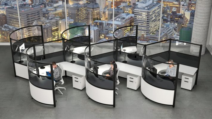cubicles, office partitions, workstations, office furniture we deliver anywhere in the Philippines